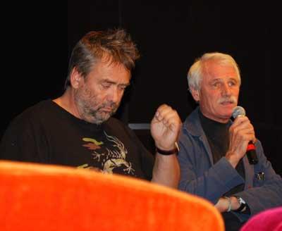 Luc Besson et Yann Arthus-Bertrand