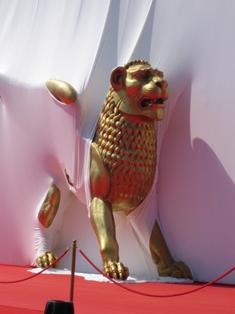 Lion d'or à Venise