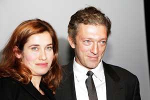 Vincent Cassel et Emmanuelle Devos