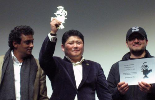 Prasanna Vithanage, Roustem Abdrachev et Noh Young-seok