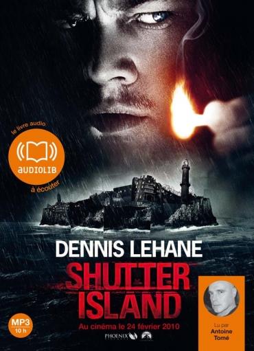couverture shutter island audiolib