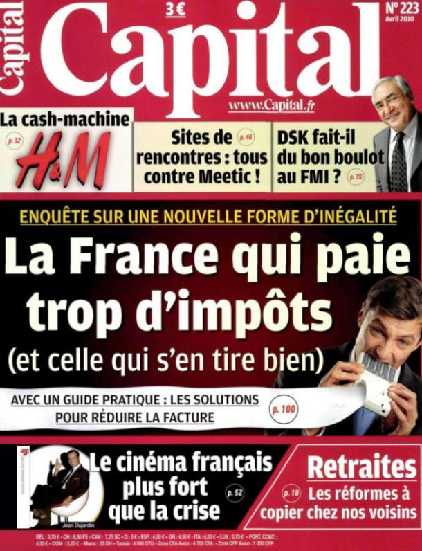 capital magazine avril 2010