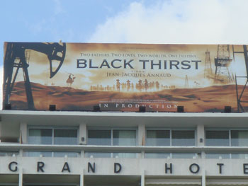jean jacques annaud black thirst cannes