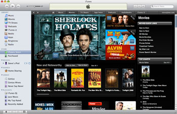 apple itunes movie store