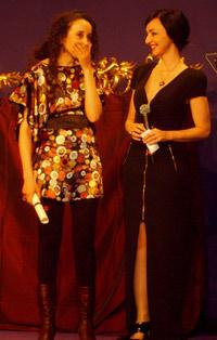 Maria de Medeiros et Amal Kateb
