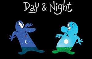 day & night pixar