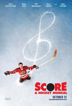poster score a hockey musical