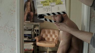homme au bain tournage francois sagat