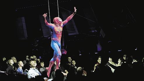 spider-man turn off the dark broadway