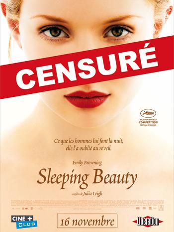 sleeping beauty censuré
