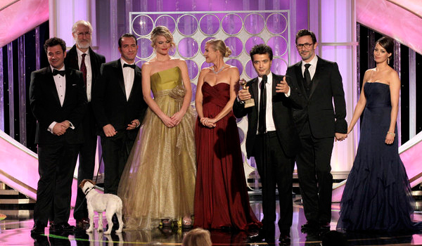 the artist golden globes 2012