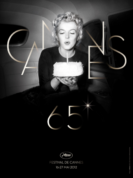 Cannes 2012 affiche poster marilyn monroe