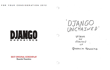 django unchained script screenplay quanetin tarantino