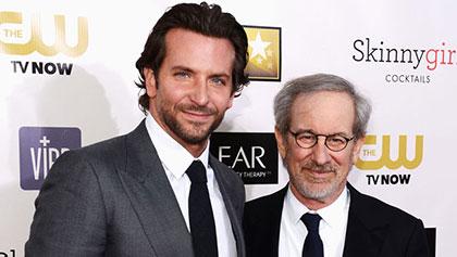 Bradley Cooper et Steven Spielberg
