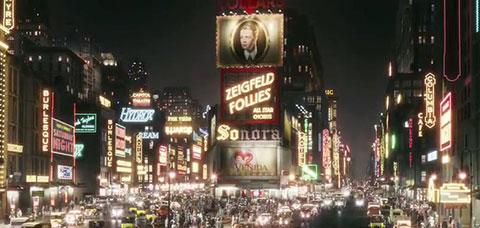 New York dans Gatsby le magnifique de Baz Luhrmann