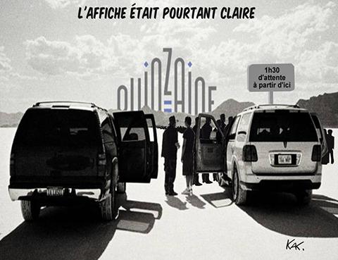 La Qunzaine vu par Kak dans Le film français