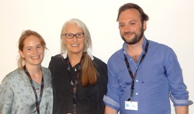 sarah hirtt, jane campion et jean-jacques rausin