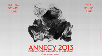affiche annecy 2013 festival film d'animation