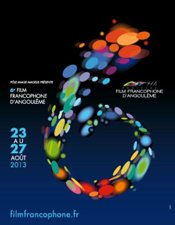 festival du film francophone d'angoulême 2013 affiche poster