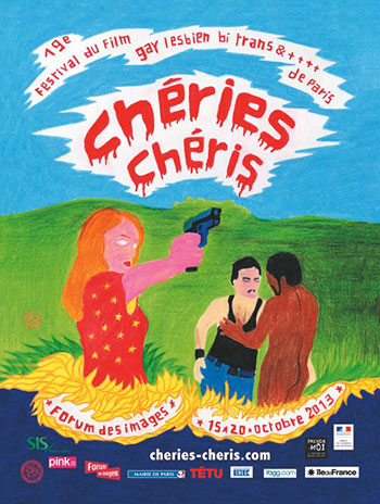festival chéries chéris 2013 films gays et lesbiens de paris tom de pékin affiche poster