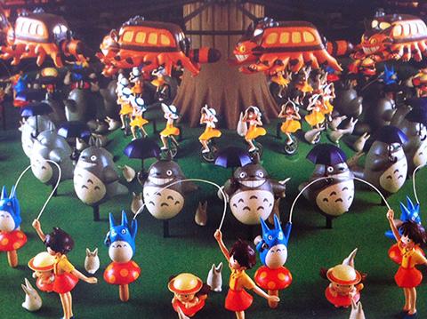 bouncing totoro musée ghibli © vincy thomas