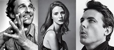 Interstellar Nolan Matthew McConaughey Jessica Chastain Casey Affleck