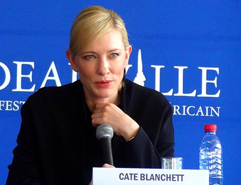 Cate Blanchett Deauville © ecran noir