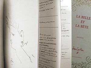 manuscrit la belle et la bete editions des saint peres