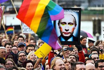 Manifestation anti homophobie