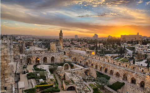 Jérusalem à la Géode
