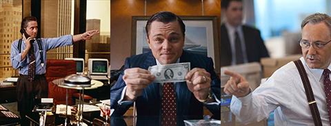 Michael Douglas Leonardo DiCaprio Kevin Spacey
