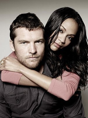 sam worthington zoe saldana