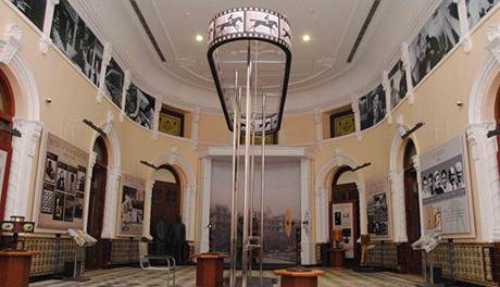 entrée du musée national du cinéma à mumbay