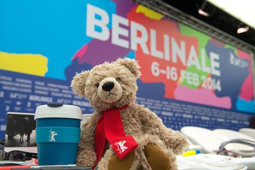 un ours à berlin