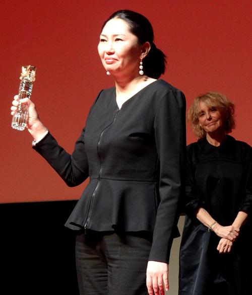 Zhanna Issabayeva NAGIMA festival cinéma asiatique deauville © ecrannoir.fr