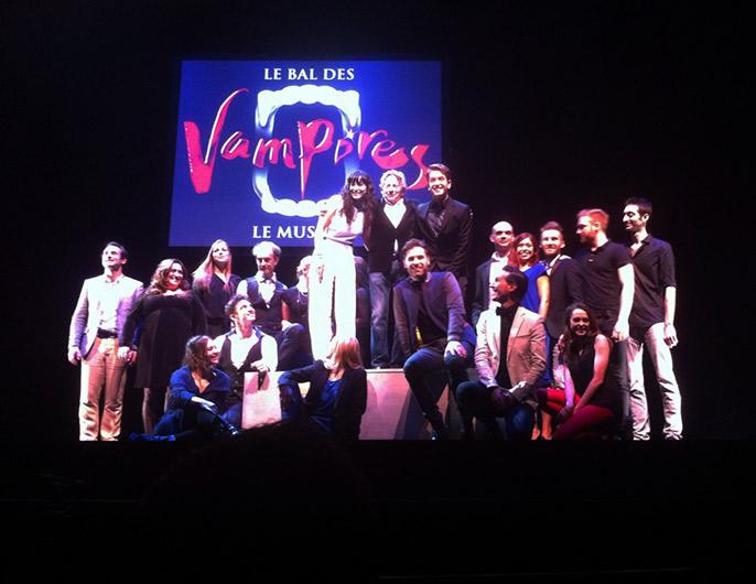 le casting du Bal des Vampires autour de roman polanski © vincy thomas