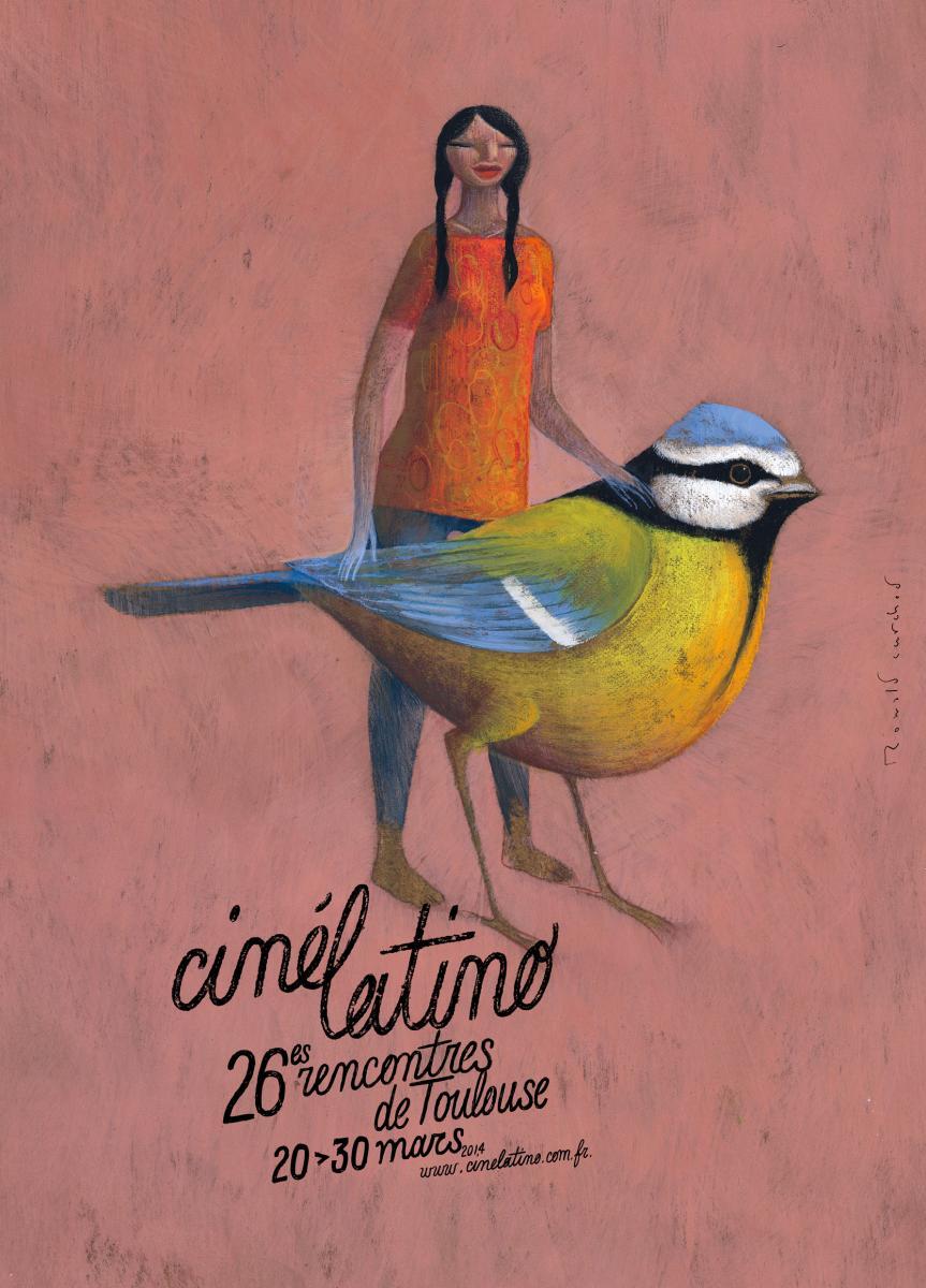 affiche de cinélatino 2014