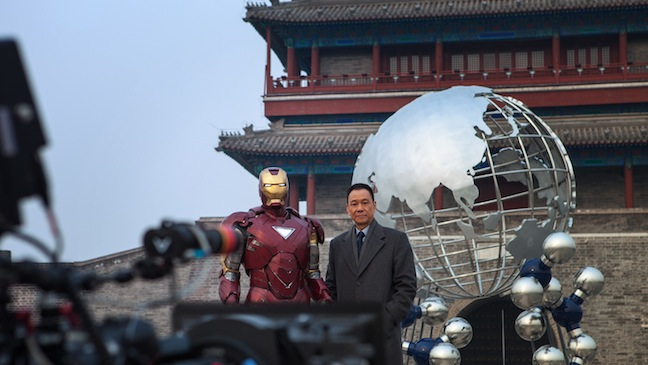 iron man wang xueqi chine hollywood