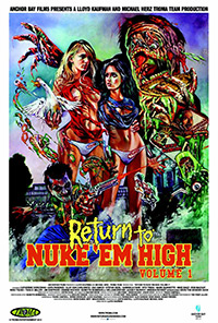 affiche return to nukeem troma