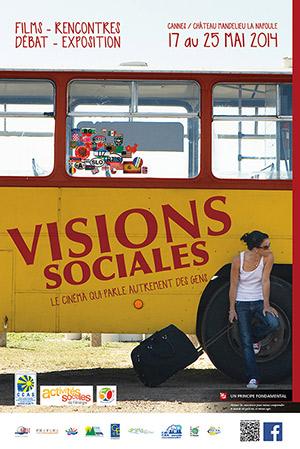 affiche visions sociales 2014