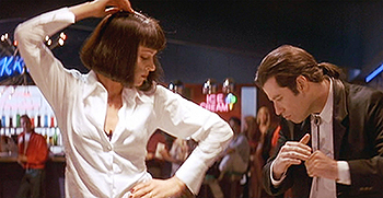uma thurman john travolta pulp fiction