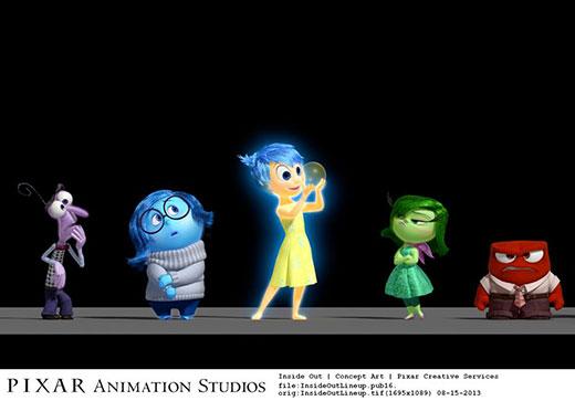 Insode Out Pixar