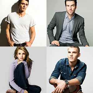 james franco zachary quinto emma roberts chris zylka