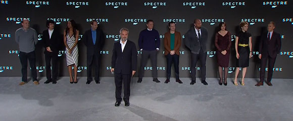 casting de Spectre James Bond 24