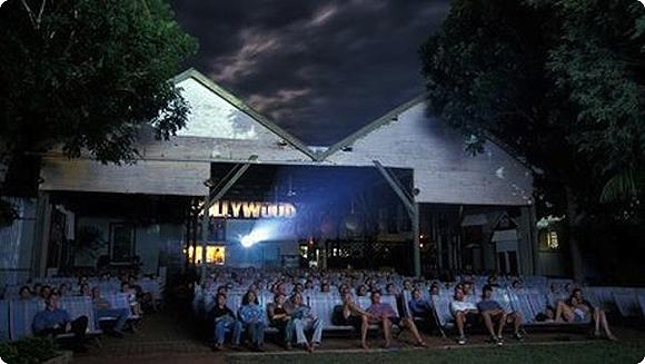 cinéma en plein air à Broome en Australie