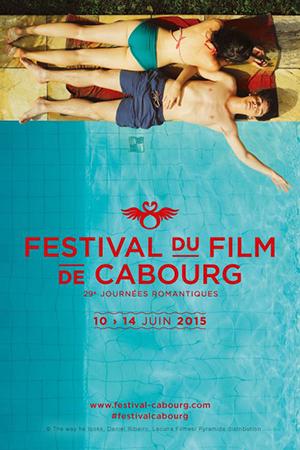 affiche du festival du film de cabourg 2015