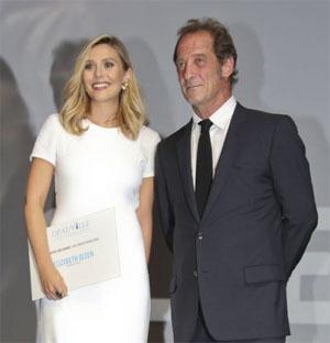 Elisabeth Olsen et Vincent Lindon