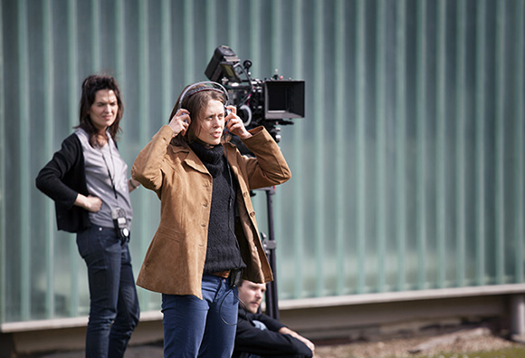 """Emergence Marion Desseigne Ravel durant le tournage de son Exercice, """"Homéopathie"""" © Marie AUGUSTIN"""