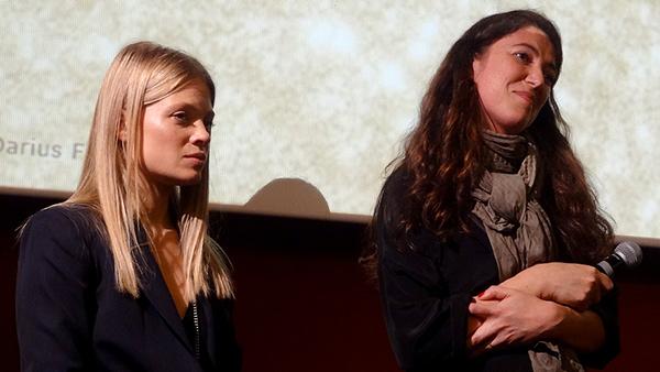 la réalisatrice Stéphanie di Giusto venue avec l'actrice Mélanie Thierry