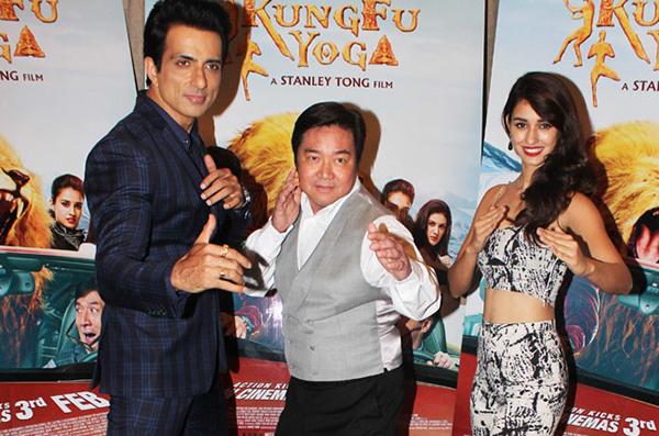 Sonu Sood, Stanley Tong et Disha Patani